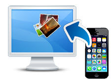 how to pass photos from iphone to computer